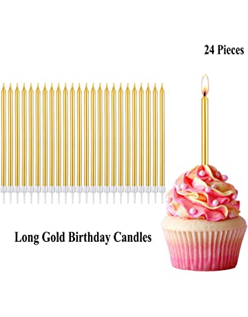 Belleone Birthday Cake Candle Numbers Decoration
