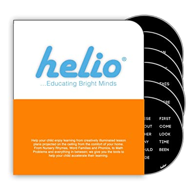 Helio Educational Base Station Sight Words Disc Set 1: Toys & Games