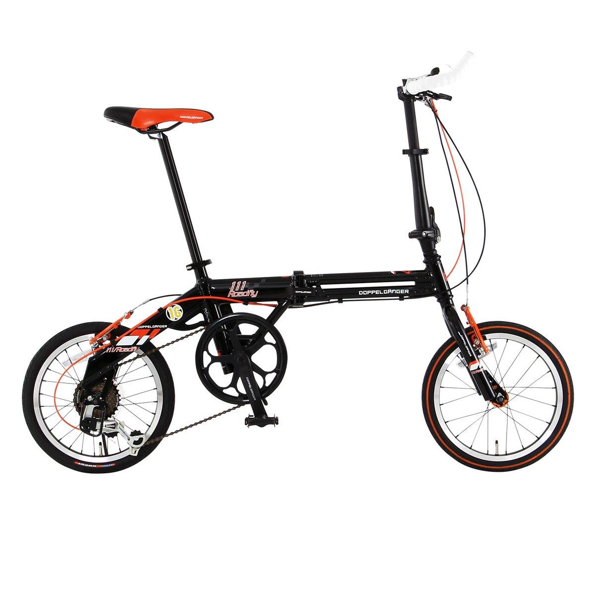 DOPPELGANGER(ドッペルギャンガー) 折りたたみ自転車 FALTRADシリーズ ROADFLY 111 16インチ 軽量アルミフレーム採用モデル B00C4PHTSU