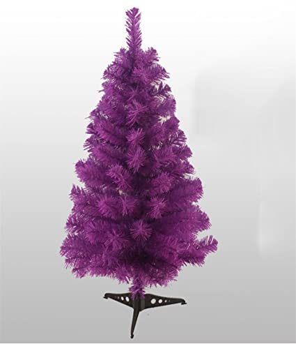 KUPARK 3ft Christmas Tree Artificial with Plastic Stand Home Office  Christmas Holiday Decoration, Purple - Amazon.com: KUPARK 3ft Christmas Tree Artificial With Plastic Stand