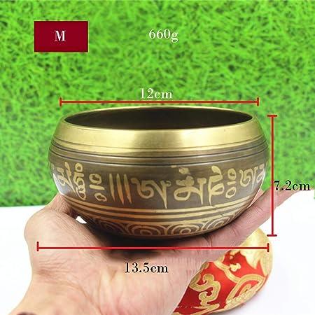 YDJGY Cuenco Tibetano Importaciones de Nepal del tazón de ...