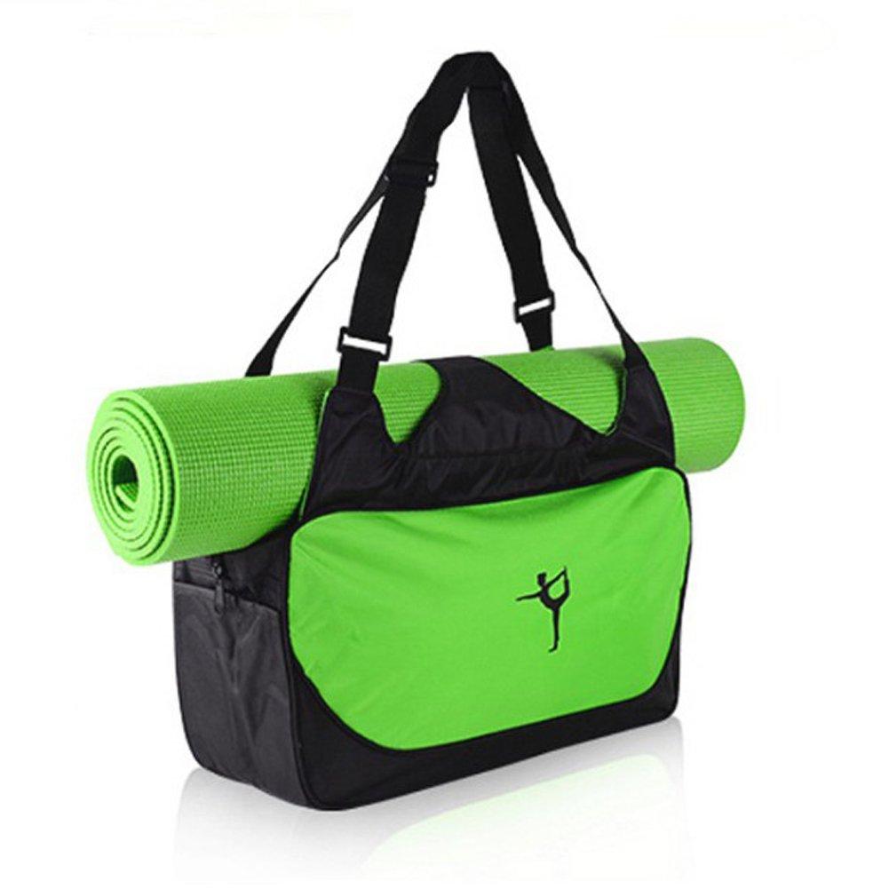 Drawihi 1PCS Yoga bolsa complejo de alta calidad para extra grande de Yoga y gimnasia (Verde)