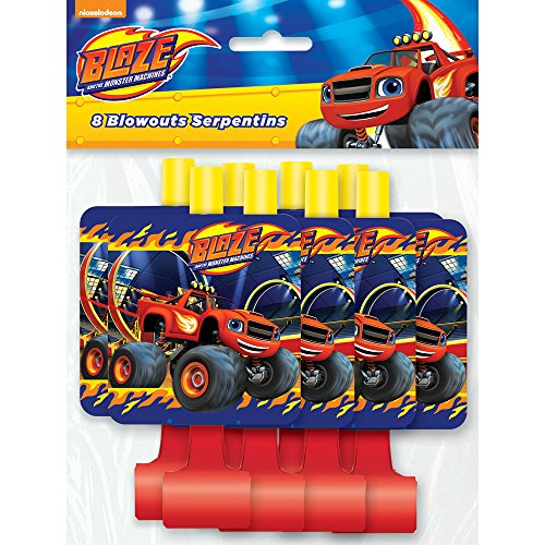 Blaze and the Monster Machines Party Blowers, 8ct -