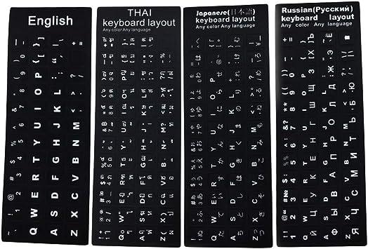 FafSgwq - Teclado con diseño de Letras tailandesas japonesas ...