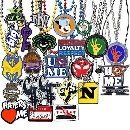 WWE ULTIMATE 25 Piece Jewelry Pendant Deal (Pendant Wwe)