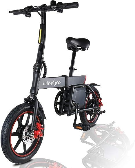 TOEU Ebike 36V Bicicleta Electrica Plegable 12