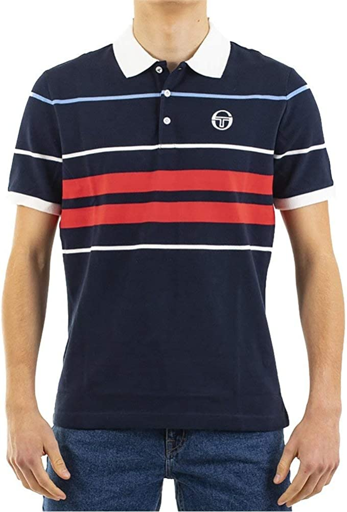 Sergio Tacchini Polo Cloud Azul M (Medium): Amazon.es: Ropa y ...