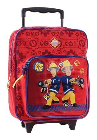 Fireman 900-8011 Sam - Mochila con Ruedas (35 cm 94bc78cf60f30