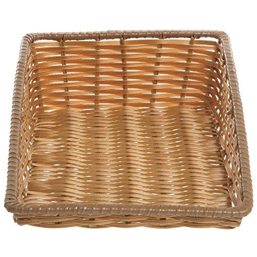 - Tapered Storage Basket, Natural Color, Rectangular - 11 1/2 L x 18