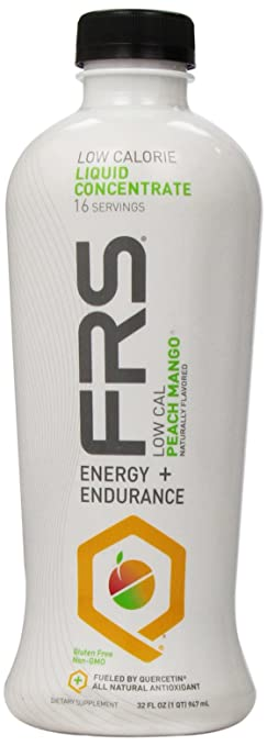 FRS Healthy Energy Liquid Concentrate, Low Cal Peach Mango