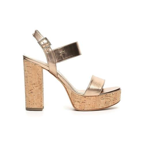 cfb5eadb000cb2 Nero Giardini sandalo elegante con tacco alto in sughero P717860DE 434  T.RIO SANDALO POLI