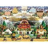 Buffalo Games Melodrama in The Mist by Charles Wysocki Jigsaw Puzzle, 1000 Piece