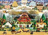 Buffalo Games - Charles Wysocki - Melodrama in the Mist - 1000 Piece Jigsaw Puzzle