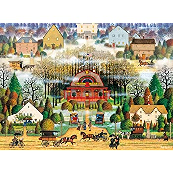 80f9cb2912f8d Buffalo Games - Charles Wysocki - Melodrama in the Mist - 1000 Piece Jigsaw  Puzzle
