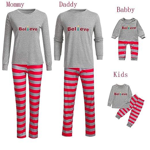 6ba37f2db Amazon.com  Christmas Family Pajamas Matching Set