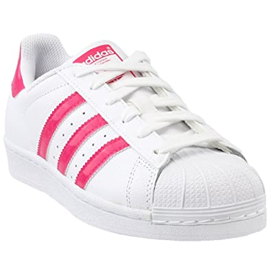 92fe88937319 adidas Kids Superstar J White DB1210 (Size  3.5)  Amazon.co.uk ...
