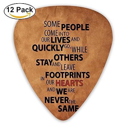 Amazon.com: Púas de guitarra corazones mediano personalizada ...