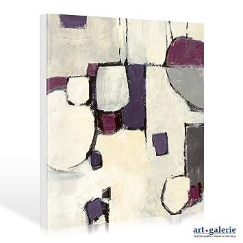 Leinwandbild Mike Schick   White Out II   40 X 40cm   Premiumqualität    Kunst Der