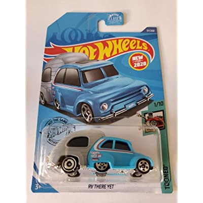 Hot Wheels 2020 Tooned RV There Yet, Blue 37/250: Toys & Games