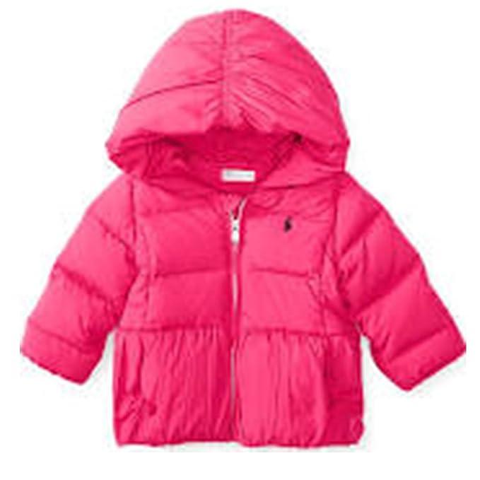 70f4ed50a63ab Polo Ralph Lauren Down Puffer Jacket Winter Coat Pink (6 Months ...