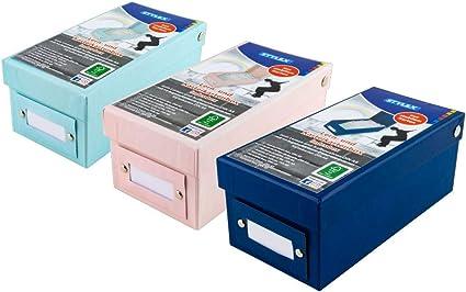 3 x caja de aprendizaje DIN A8/fichero (/1200 Tarjetas/por 1 X ...