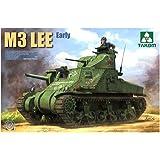 タコム 1/35 アメリカ軍 M3リー 中戦車 前期型 プラモデル TKO2085