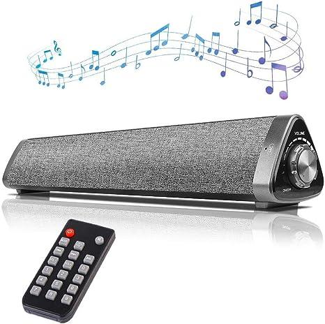 Barras de Sonido para TV, COSOOS Bluetooth Soundbar Wireless ...