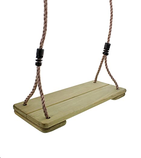 Amazon Com Get Out Wooden Swing Replacement Seat With 79 Inch