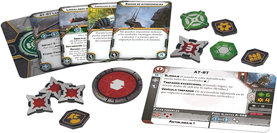 Fantasy Flight Games- AT-RT (FFSWL04) , color/modelo surtido: Amazon.es: Juguetes y juegos
