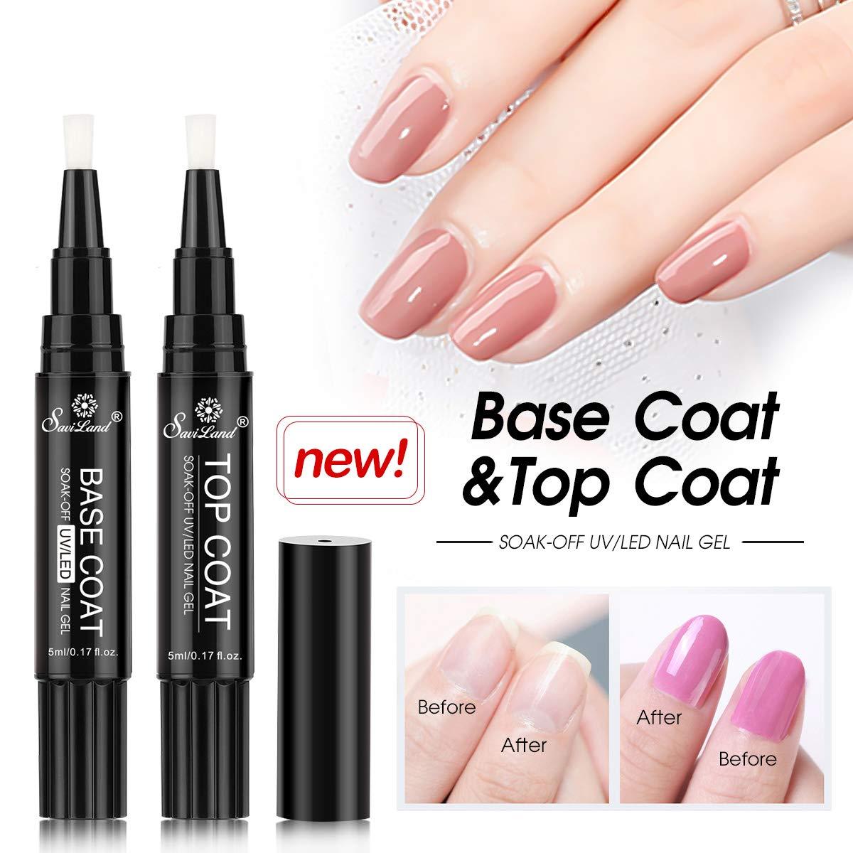 Amazon.com : 6 Colors Gel Nail Polish Pen Set, Saviland