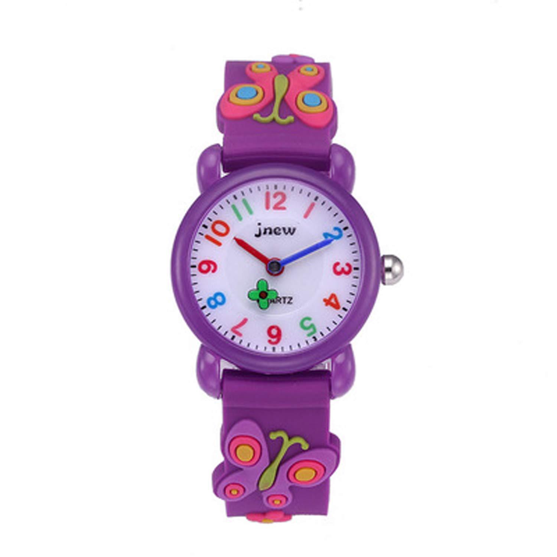 Kids Watches, 3D Cute Cartoon Waterproof Watch for Girl Children Toddler Wrist Watches by Akaru (Image #1)