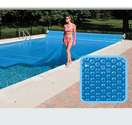 EXUVIATE Cubierta Solar Rectangular Manta Solar para Piscina Lona De Burbujas Lona Térmica Protectora Cobertor Piscina 600 * 400Cm: Amazon.es: Deportes y aire libre