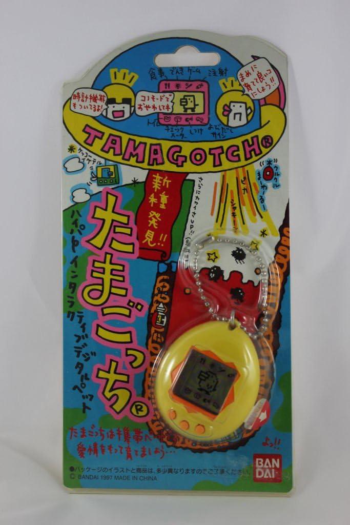 Amazon.es: Nuevas especies descubiertas amarilla Tamagotchi (Jap?n importaci?n / El paquete y el manual est?n escritos en japon?s)