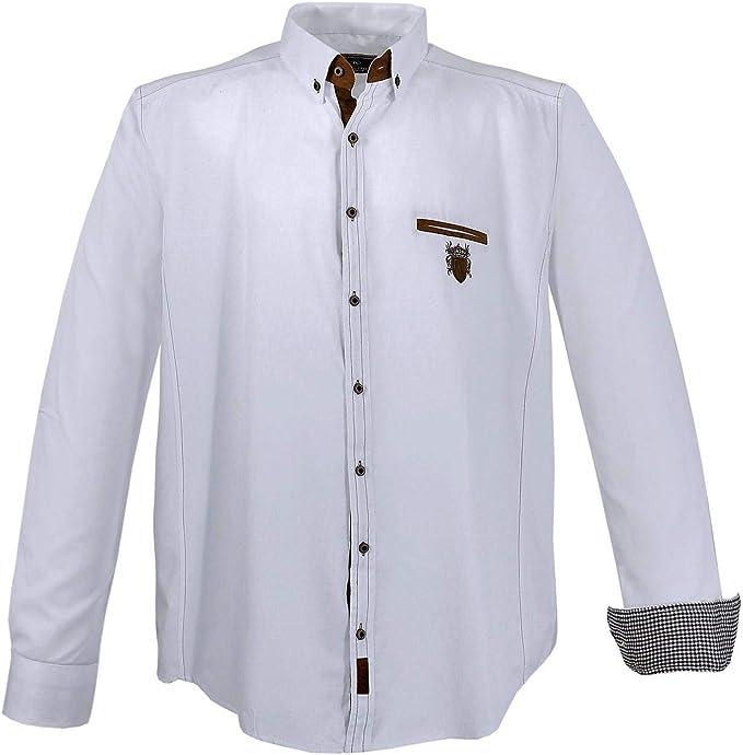 Lavecchia 1128 - Camisa de manga corta para hombre, talla grande, color blanco 3-7 XL: Amazon.es: Ropa y accesorios