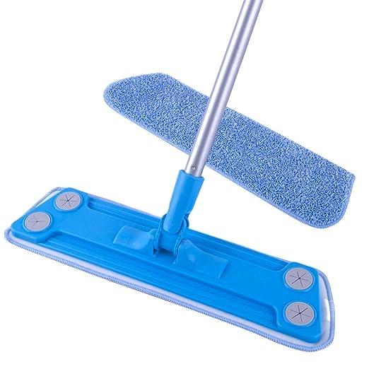 8 opinioni per MR. SIGA Microfiber Floor Mop (Included 2 Microfiber Refills)- Size 43 x 14cm by