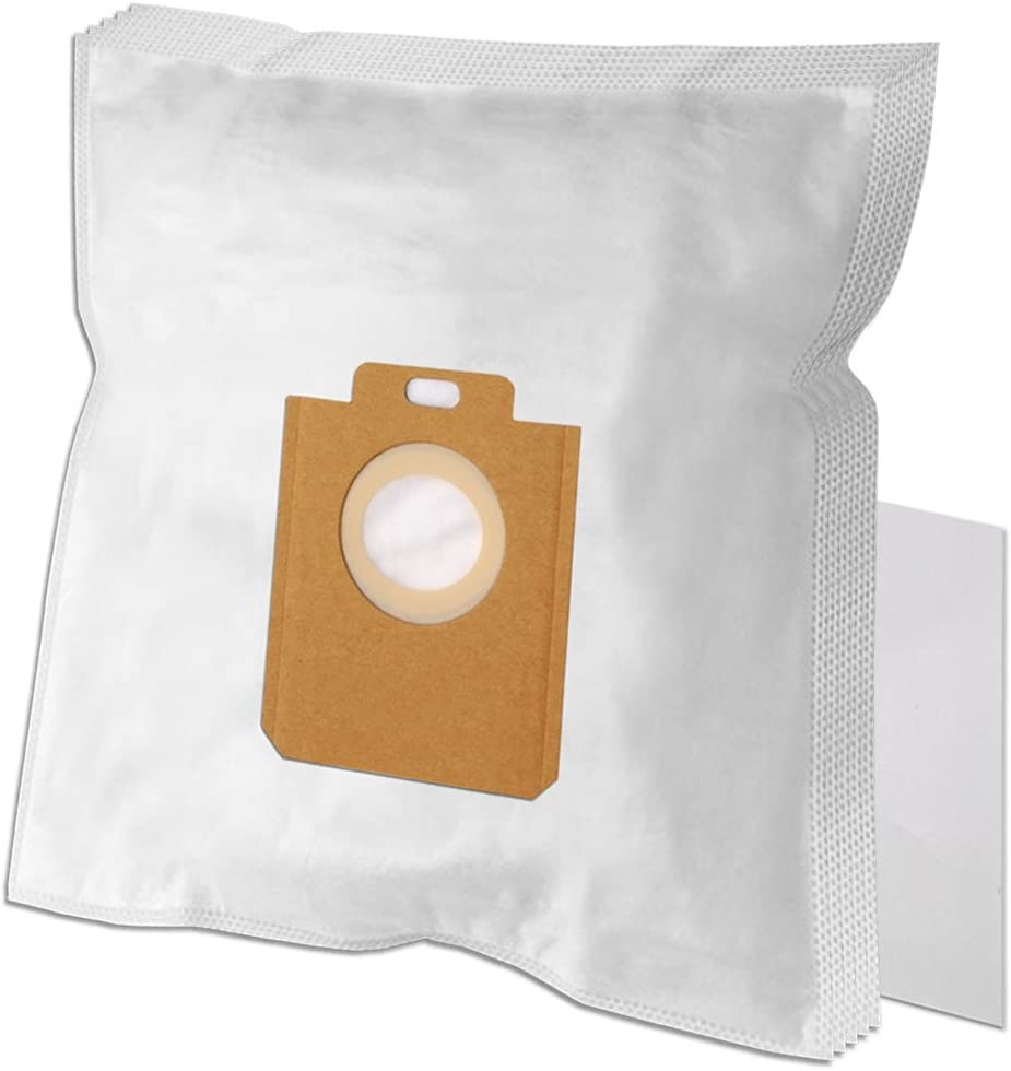 5x Dust bags microfleece for Philips Mobilo,Performer,PowerGo