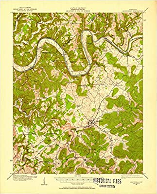 Kentucky Maps | 1911 Monticello, KY USGS Historical Topographic Map |Fine Art Cartography Reproduction Print
