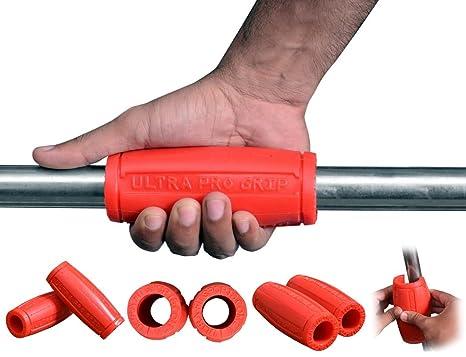 Ultra Fitness- grueso bar/grasa Grips adaptador para Massive brazo ...