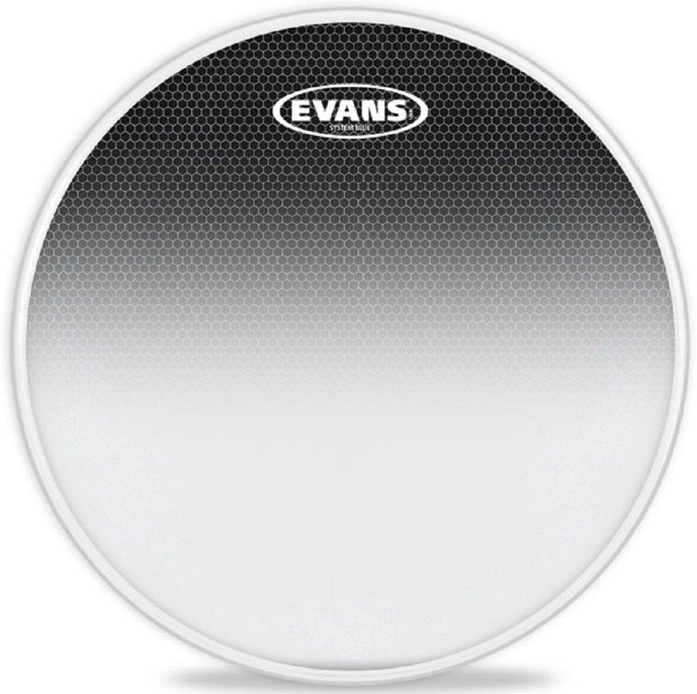 Evans System Blue SST Marching Tenor Drum Head, 12 Inch Evans Heads TT12SB1