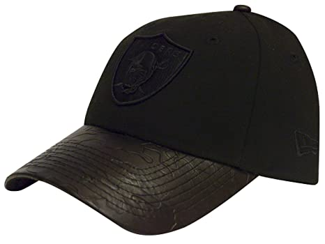8f6fb1e8f34 Image Unavailable. Image not available for. Color  Oakland Raiders New Era  Camo Pressed Adjustable Strapback Hat Black