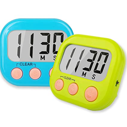 Buy Classroom Timers For Teachers Kids Large Magnetic Digital Timer 2 Pack Online At Low Prices In India Amazon In