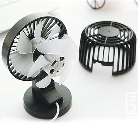 LBZEZR 4 inch Portable USB Fans Mini Desk Table Electric Rechargeable For Laptop