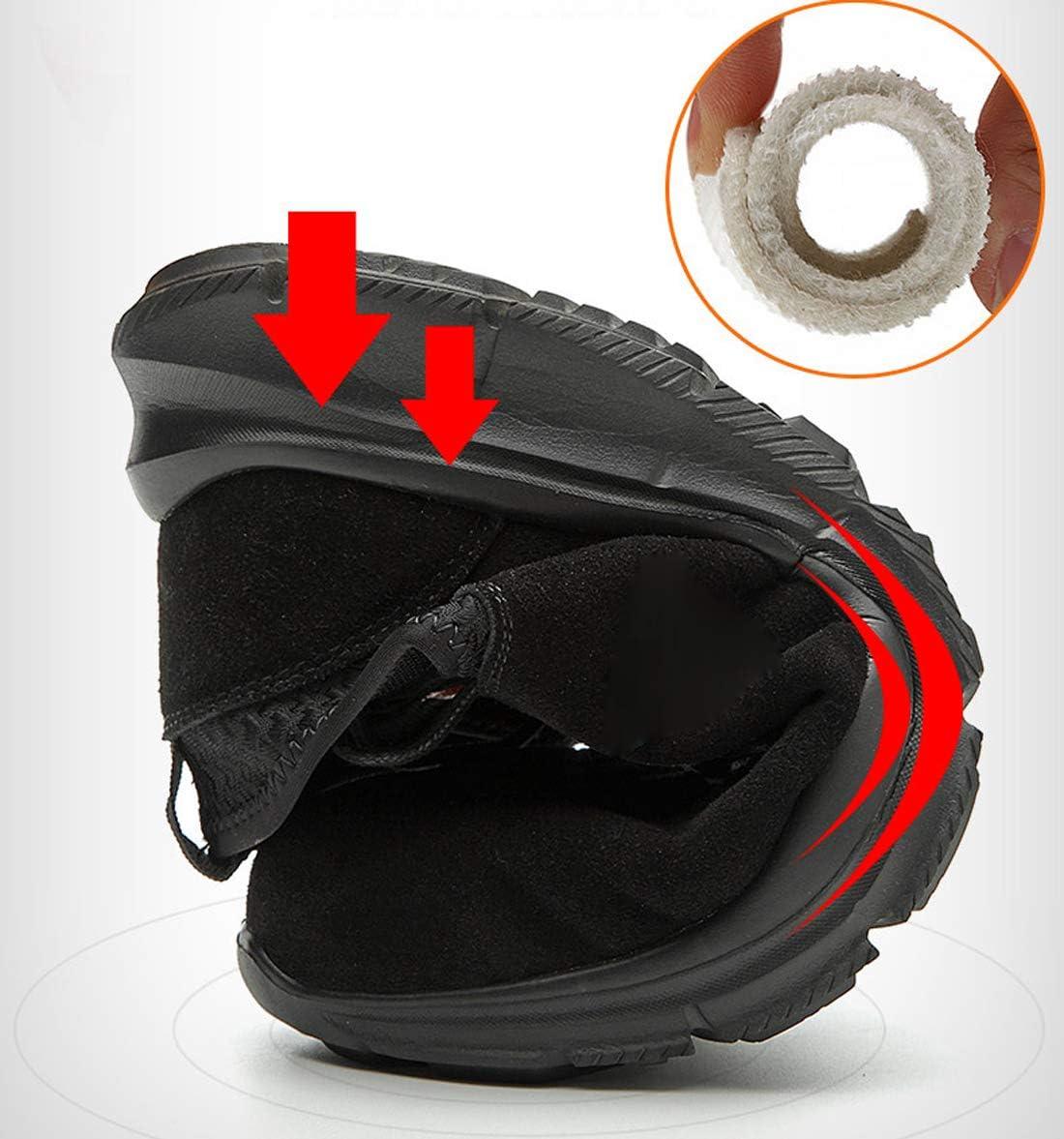 Dxyap Chaussures de Securit/é Homme Embout Acier Protection Antid/érapante Anti-Perforation L/éger Respirante Unisexes Chaussures de Travail Unisexes
