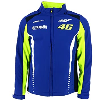 Valentino Rossi VR46 Moto GP M1 Yamaha Racing Soft Shell ...