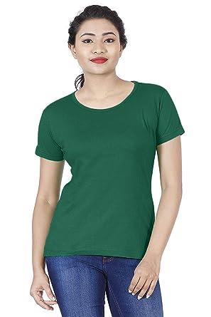 38c027cb715 iShoppe Plain Basic T-Shirt for Women s