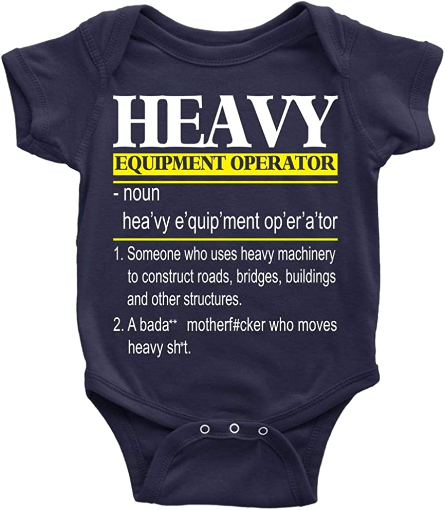 Railroad Crossing Sign Infant Baby Boys Girls 100/% Organic Cotton Bodysuit Rompers 0-24 Months