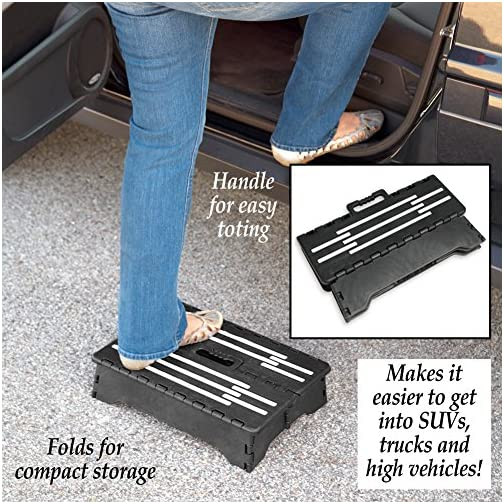 Fox Valley Traders Step-Non-Slip Grips, Foldable & Easy to Store, Large Platform, 3.55 Pound