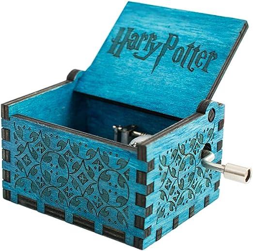 carsge Caja Musical Harry Potter de Madera Melodía Personalizadas ...
