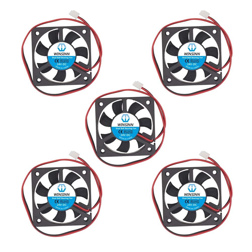Winsinn 50mm Fan 24v Dual Ball Bearing Brushless 5010 50x...