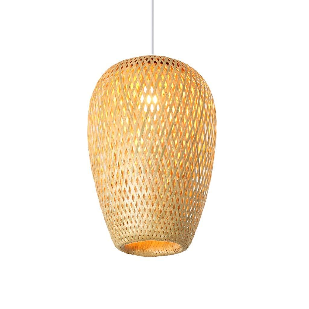 Creative Bamboo Bamboo Chandelier Lantern Lighting, Southeast Asian Restaurant Aisle Antique Bamboo Lamp